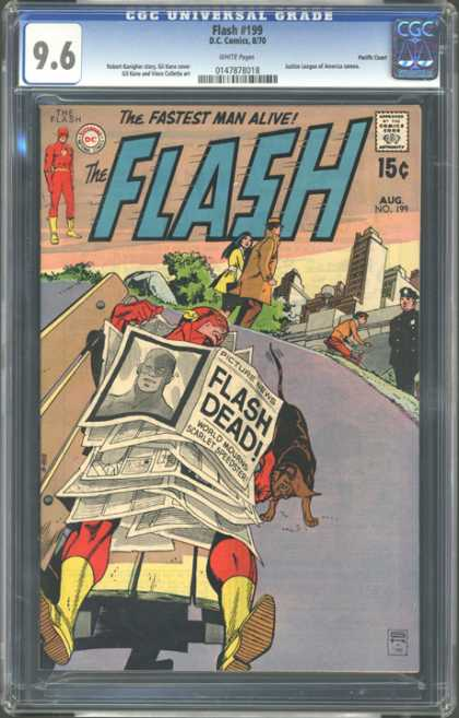 CGC Graded Comics - Flash #199 (CGC)