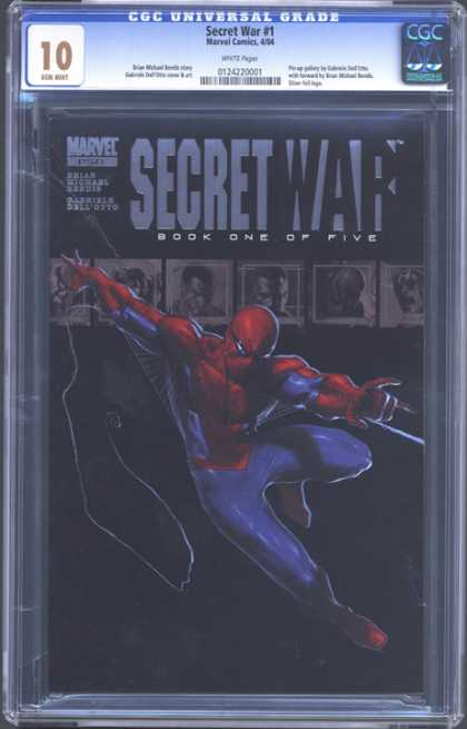 CGC Graded Comics - Secret War #1 (CGC) - Secret War - Marvel Comics - Book One Of Five - 10 - Flying In Air