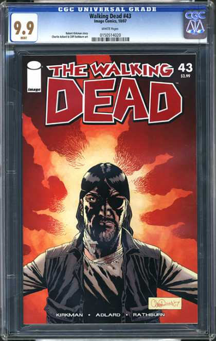CGC Graded Comics - Walking Dead #43 (CGC) - 43 - Kirkman - Adlard - Rathburn - Eyepatch