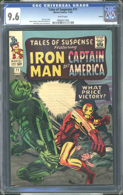 CGC Graded Comics - Tales of Suspense #71 (CGC)