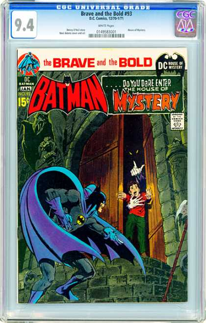 CGC Graded Comics - Brave and the Bold #93 (CGC)