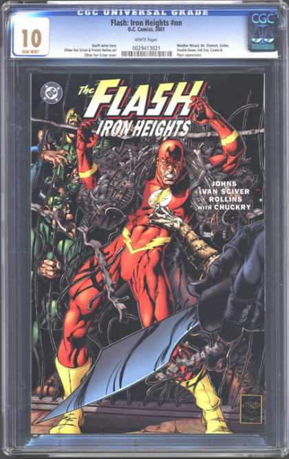 CGC Graded Comics - Flash: Iron Heights #nn (CGC)