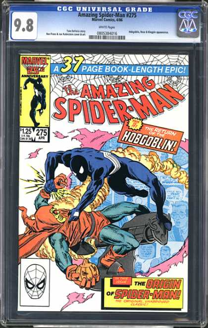 CGC Graded Comics - Amazing Spider-Man #275 (CGC)
