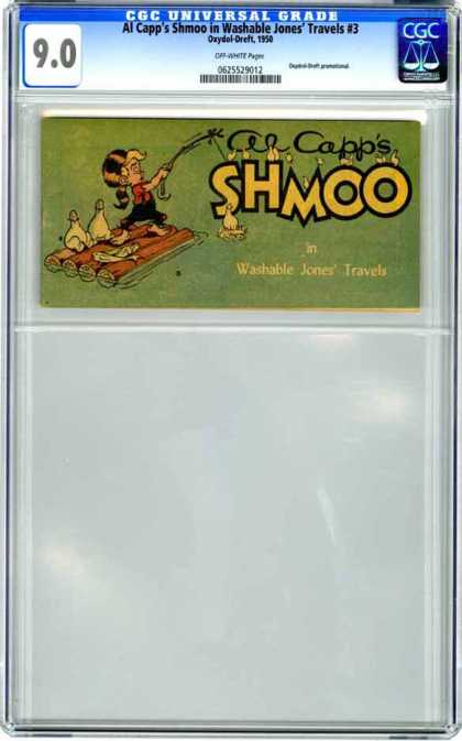 CGC Graded Comics - Al Capp's Shmoo in Washable Jones' Travels #3 (CGC)