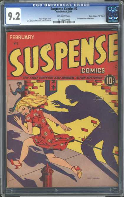 CGC Graded Comics - Suspense Comics #2 (CGC)