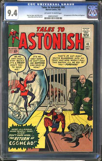 CGC Graded Comics - Tales to Astonish #45 (CGC)