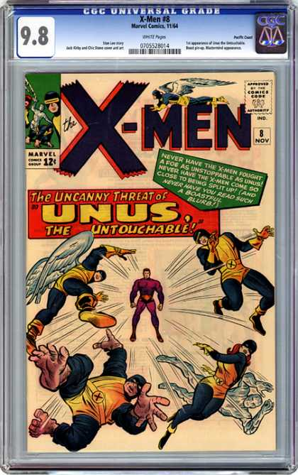 CGC Graded Comics - X-Men #8 (CGC)