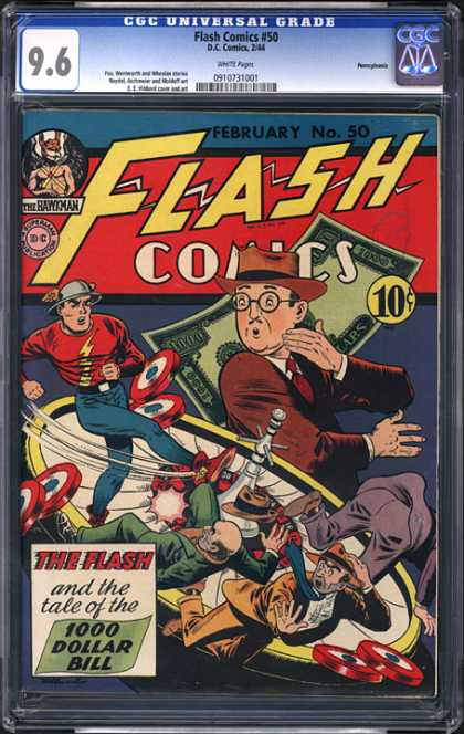 CGC Graded Comics - Flash Comics #50 (CGC)