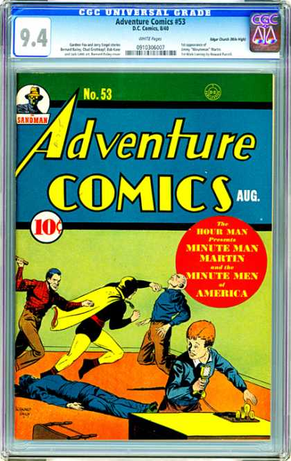CGC Graded Comics - Adventure Comics #53 (CGC)
