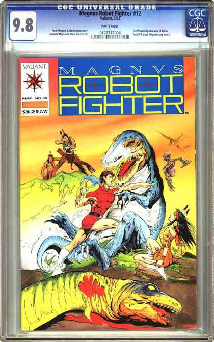 CGC Graded Comics - Magnus Robot Fighter #12 (CGC)