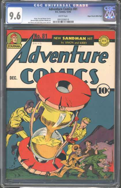 CGC Graded Comics - Adventure Comics #81 (CGC)