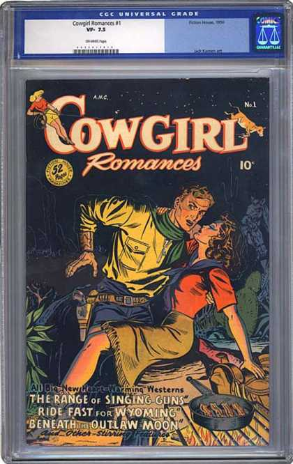 CGC Graded Comics - Cowgirl Romances #1 (CGC)
