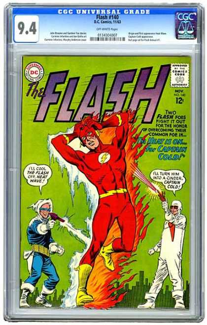 CGC Graded Comics - Flash #140 (CGC) - Foes - Captain Cold - Heat Wave - Honor - Overcoming