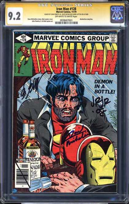 CGC Graded Comics - Iron Man #128 (CGC)