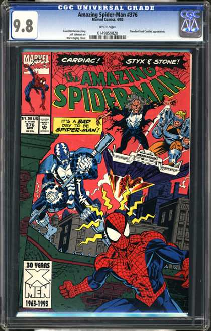 CGC Graded Comics - Amazing Spider-Man #376 (CGC)