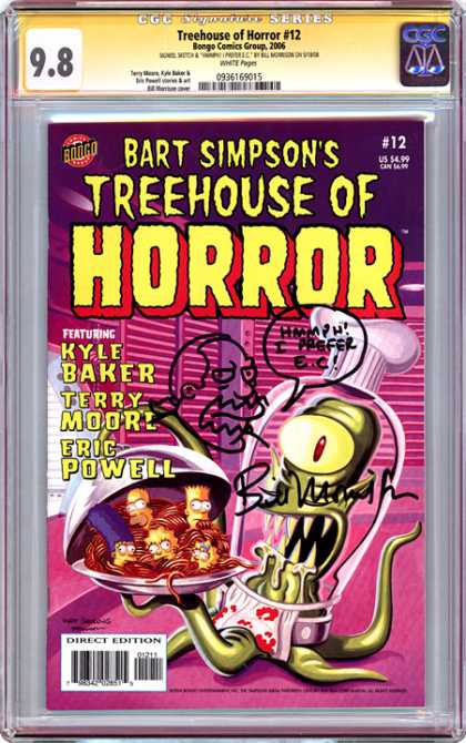 CGC Graded Comics - Treehouse of Horror #12 (CGC)