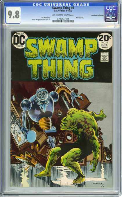 CGC Graded Comics - Swamp Thing #6 (CGC)