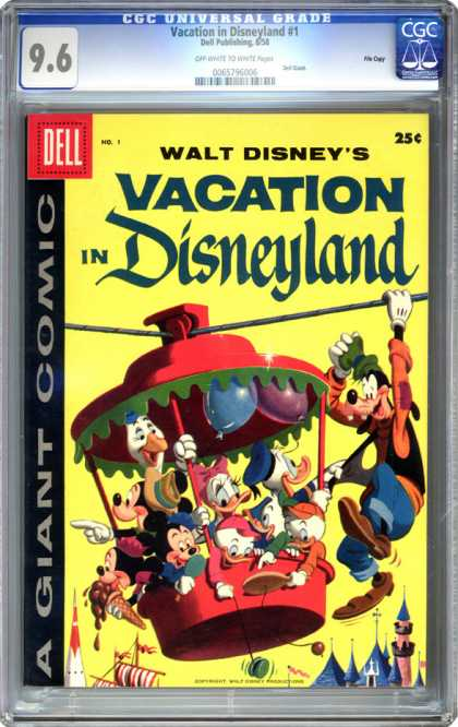 CGC Graded Comics - Vacation in Disneyland #1 (CGC)