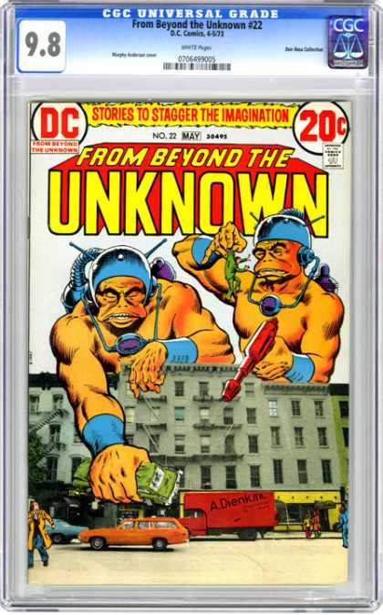CGC Graded Comics - From Beyond the Unknown #22 (CGC)