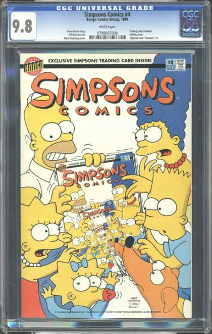 CGC Graded Comics - Simpsons Comics #4 (CGC)