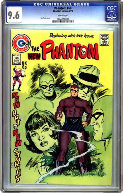 CGC Graded Comics - Phantom #60 (CGC)