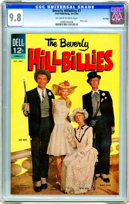 CGC Graded Comics - Beverly Hillbillies #7 (CGC)