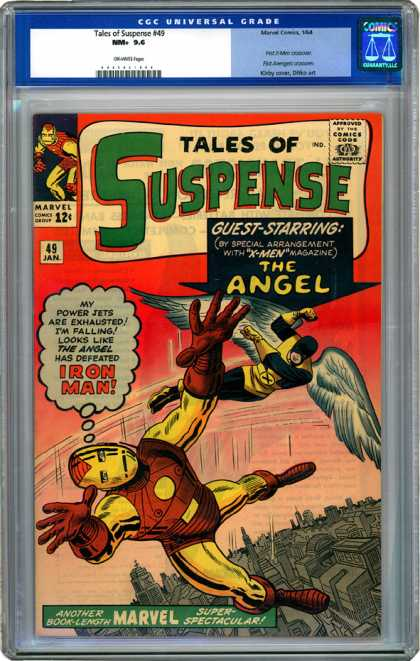 CGC Graded Comics - Tales of Suspense #49 (CGC)