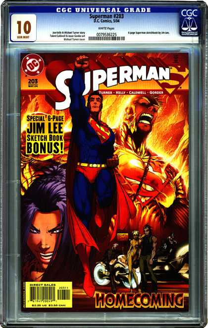 CGC Graded Comics - Superman #203 (CGC)