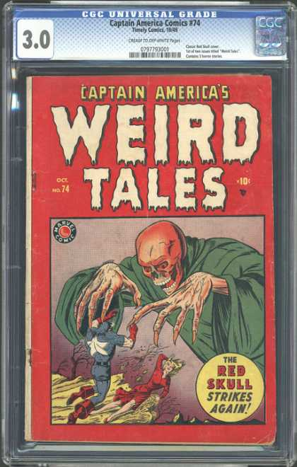 CGC Graded Comics - Captain America Comics #74 (CGC)
