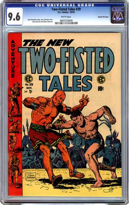 CGC Graded Comics - Two-Fisted Tales #39 (CGC)