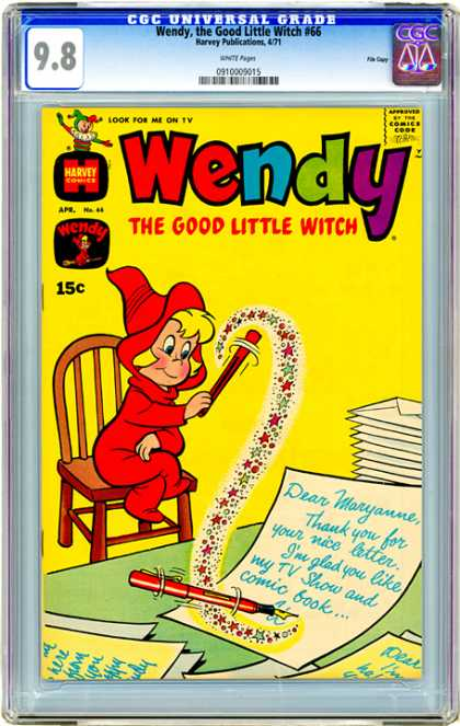 CGC Graded Comics - Wendy, the Good Little Witch #66 (CGC)