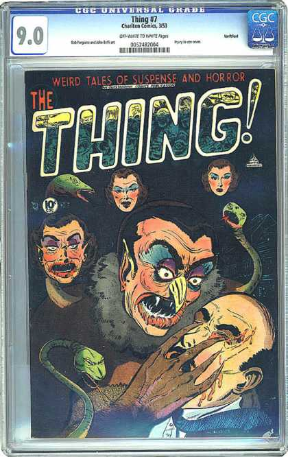 CGC Graded Comics - Thing #7 (CGC)