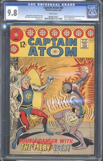 CGC Graded Comics - Captain Atom #87 (CGC)
