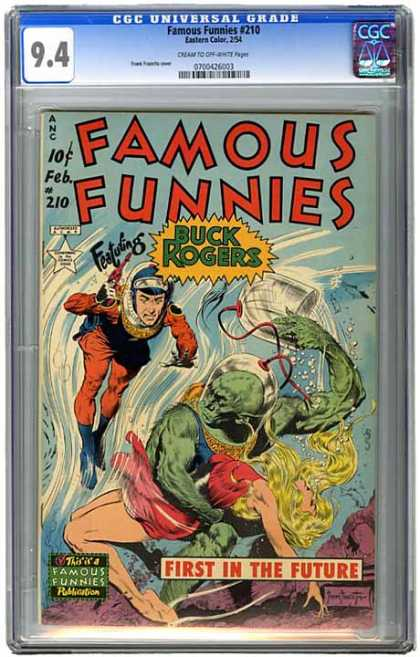 CGC Graded Comics - Famous Funnies #210 (CGC)