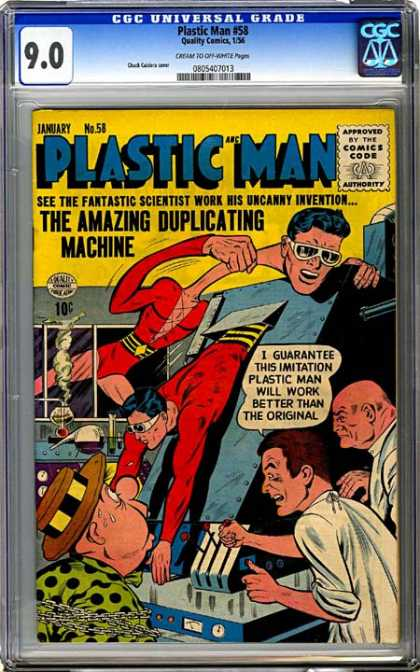 CGC Graded Comics - Plastic Man #58 (CGC)