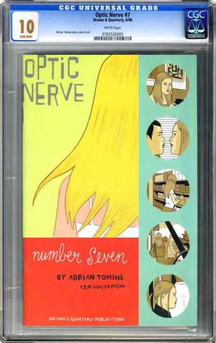 CGC Graded Comics - Optic Nerve #1 (CGC)