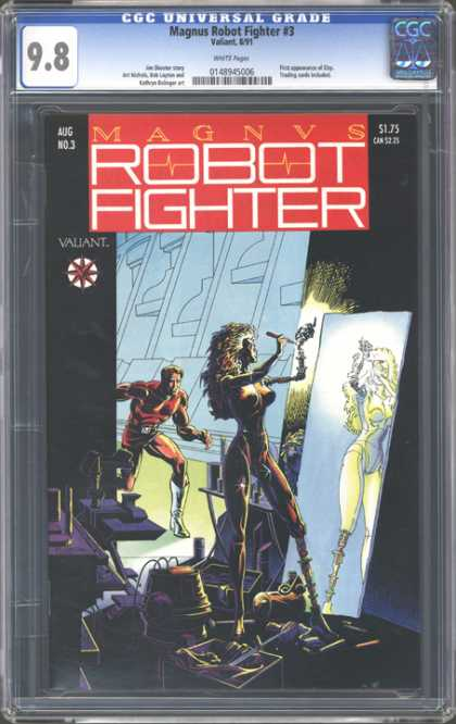 CGC Graded Comics - Magnus Robot Fighter #3 (CGC)