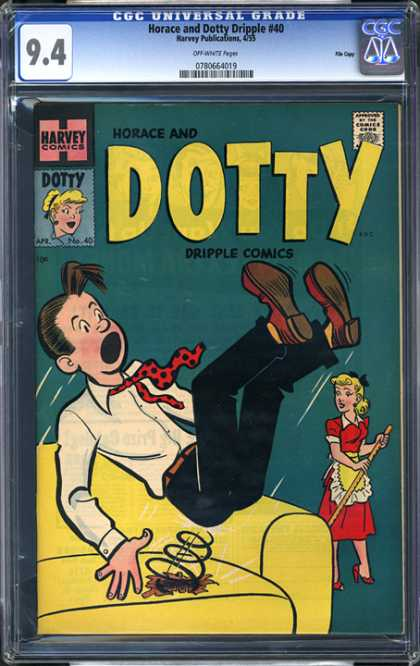 CGC Graded Comics - Horace and Dotty Dripple #40 (CGC)
