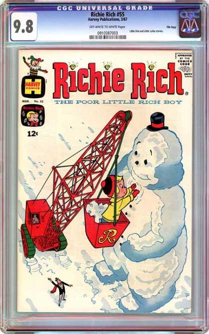 CGC Graded Comics - Richie Rich #55 (CGC)