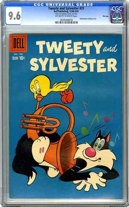 CGC Graded Comics - Tweety and Sylvester #31 (CGC)