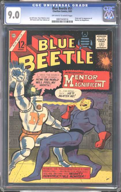 CGC Graded Comics - Blue Beetle #51 (CGC)