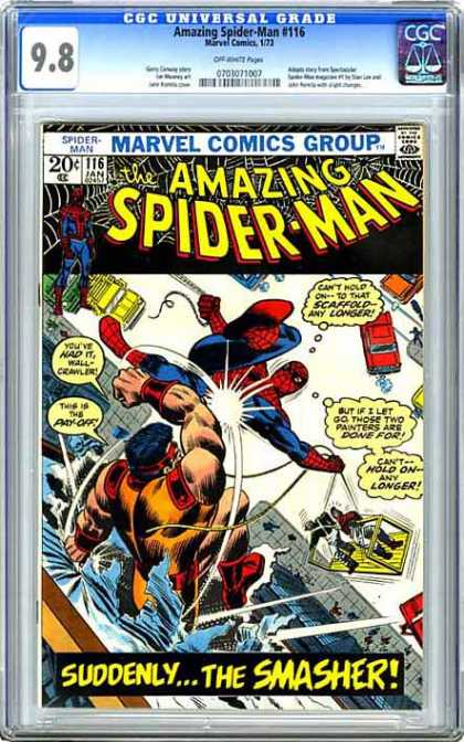 CGC Graded Comics - Amazing Spider-Man #116 (CGC)