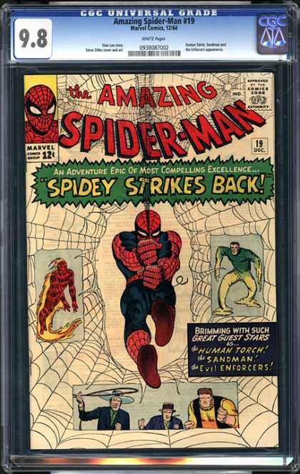 CGC Graded Comics - Amazing Spider-Man #19 (CGC)