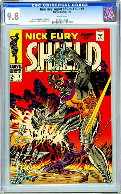 CGC Graded Comics - Nick Fury, Agent of S.H.I.E.L.D. #2 (CGC)