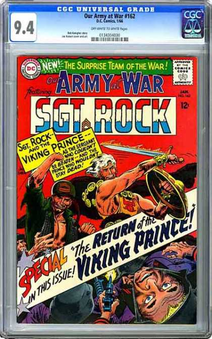 CGC Graded Comics - Our Army at War #162 (CGC)