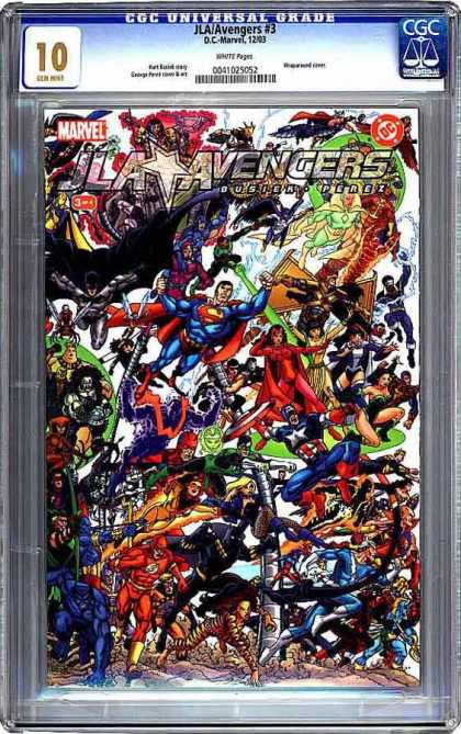 CGC Graded Comics - JLA/Avengers #3 (CGC)