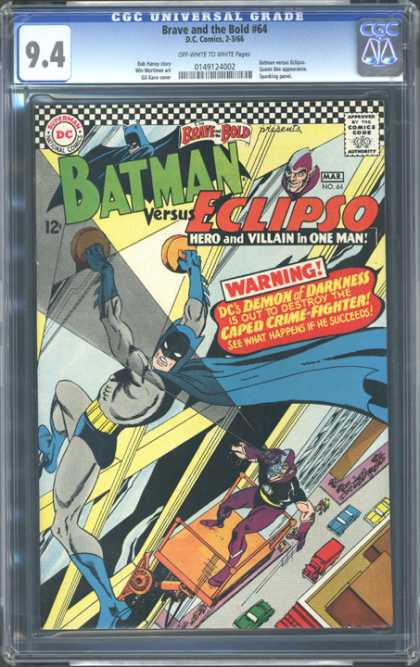 CGC Graded Comics - Brave and the Bold #64 (CGC)