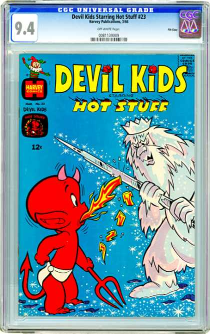 CGC Graded Comics - Devil Kids Starring Hot Stuff #23 (CGC)