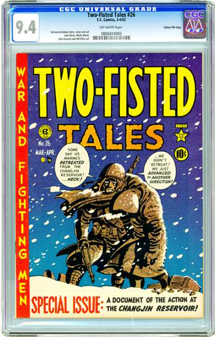 CGC Graded Comics - Two-Fisted Tales #26 (CGC)