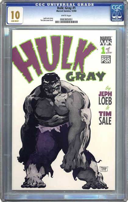 CGC Graded Comics - Hulk: Gray #1 (CGC)
